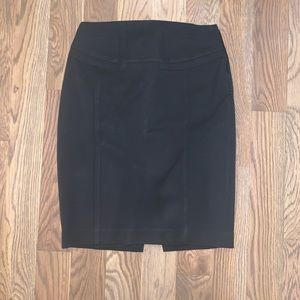Black express pencil skirt for the office size 00
